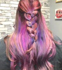 pink-purple-hair-braid-shear-paradise-salon-phoenix