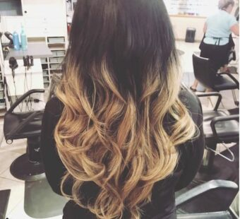 blond-ombre-hair-dark-roots-shear-paradise-salon-phoenix