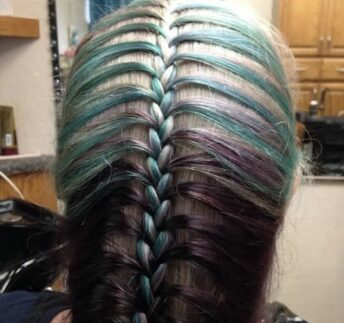 purple-braid-hair-shear-paradise-salon-phoenix