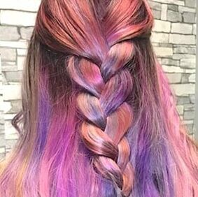 pink-purple-hair-braid-shear-paradise-salon-phoenix